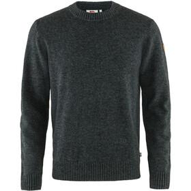 Fjällräven Övik Round-neck Sweater Men dark grey